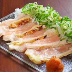 百日鶏むね肉のタタキ