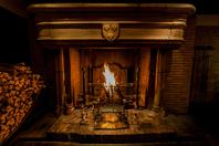 1690年からフランスの修道院で使用されていた暖炉