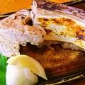 料理メニュー写真三崎まぐろカマ塩焼き