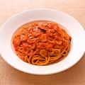 料理メニュー写真トマトとニンニクのスパゲティ