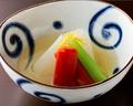 料理メニュー写真京野菜の炊き合わせ
