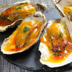 牡蠣の雲丹ソース焼き 1個