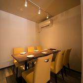 【完全個室】2~10名様ご対応!少人数からご利用頂ける完全個室完備:デート・宴会&女子会・誕生日・接待に