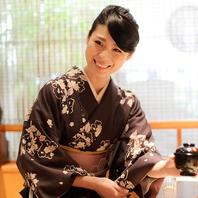 京橋でのご接待に…和服姿の女性スタッフがおもてなし