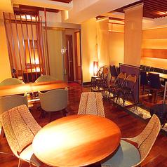 【テーブル席】女子会や仲間内での飲み会にも最適のお席