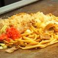 【焼きそばランチ】ガッツリランチ!サイズが同じ値段で選べます。通常→大→特大ご飯(おかわり可)漬物・みそ汁各50円