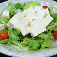 豆腐と野菜の和風サラダ
