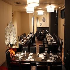 当店はワンフロアで50人まで対応可能な作りとなっております。各種大型のご宴会でのご利用に最適です☆★当店名物の「羊肉串焼き」はお酒にもピッタリです♪コースも多数ご用意しておりますのでお気軽にお問い合わせください!