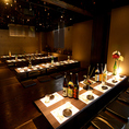 昼宴会・深夜宴会等時間外御予約もご相談ください。130名様御案内できる大宴会場は掘りごたつとなっており可動式のテーブルなのでベストの席作りが可能です★音響・空調・照明などの調節も可能!!