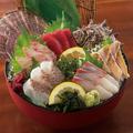 料理メニュー写真鮮魚入り刺身5点盛り