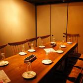 【四日市居酒屋の宴会は当店で!】地下個室(小)2名様からご利用いただけます★1階のフロアからひっそり隠れた完全個室が地下にございます!!周りのお客様を気にせず、大切な時間を四日市でお楽しみ下さい!もちろん、合コンや飲み会にも最適です★コースご利用でサプライズのデザートプレートのご用意も可能です♪