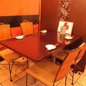 4名様のテーブル席♪