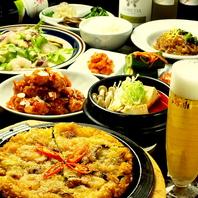 韓国料理の『テッパン』を集めたコース!