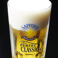 旭川で一番美味しいビールの提供を正直やは約束します!!