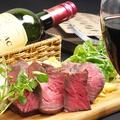 料理メニュー写真牛ハラミステーキ&フレンチポテトフライ(150g)
