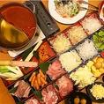 【3時間食べ放題飲み放題】ヤロー本気の食べ放題<<鶏しゃぶヤローコース>>3,000円(税込)