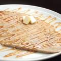 料理メニュー写真塩バターキャラメルガレット