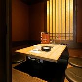 席タイプ:テーブル席/個室仕切り:半個室/人数:10名様まで/予約:直接お店にお問い合わせください/2つのテーブル席を使ってゆったり座れます。用途に合わせた 着席により2つのグループが気兼ねなくご宴会可能です!※席数/席・部屋数は当店の総席数です