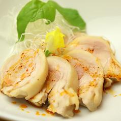 料理メニュー写真四川風蒸し鶏(よだれ鶏)