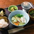 料理メニュー写真一汁三菜ランチ