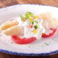 料理メニュー写真スペイン産 ホワイトアスパラガスのサラダ