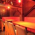 【1階】2名席、4名席、5名席など宴会別に合わせて席をご用意。大人数やフロア貸切もOK!