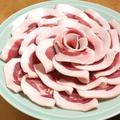 料理メニュー写真名物【ぼたん鍋】天然猪には良質タンパク質・ビタミンが豊富。天然国内産のみ使用