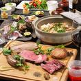 一品一品丁寧に調理された料理は、味はもちろん目でもお楽しみいただけます。