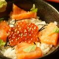 料理メニュー写真いくらサーモン丼