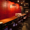 【2階】テーブルを並べて、20人以上の宴会も可能◎
