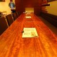 12名迄着席可能テーブル席