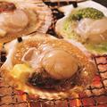 料理メニュー写真3種の帆立焼き【バター醤油・バジル・チポトレ】