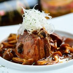 料理メニュー写真豚の角煮 デミグラスソース
