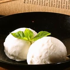 料理メニュー写真フローズンヨーグルトアイスクリーム