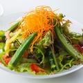 料理メニュー写真季節野菜のグリーンサラダ