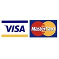 クレジットカードご利用できます!※ VISA・マスターのみ