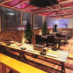 Vegeta ベジータ 赤坂 ビアガーデンの雰囲気1
