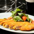 料理メニュー写真茨城産ローズポークのミラノ風カツレツ