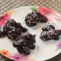料理メニュー写真ブルーベリーのクランチショコラ