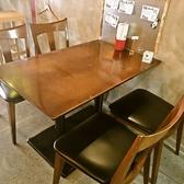 2名様~4名様用テーブル席※同じタイプのテーブル席が2席あります!