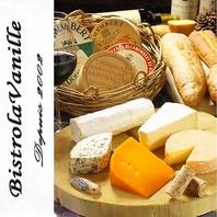 厳選のチーズは全8種ご用意★選べる盛り合わせ1500円
