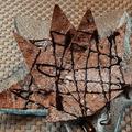 料理メニュー写真パリパリチョコクレープドウ