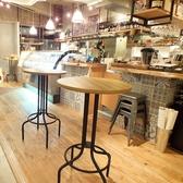 「ちょっと一杯」というお客様も多く、立ち飲み席もご用意しております。待ち合わせ迄のお時間などにどうぞ!