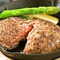 料理メニュー写真あぐー豚のハンバーグ(150g)