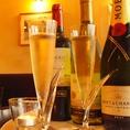 シャンパンもあるので乾杯ドリンクにオススメです!
