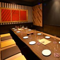 ◆2名~70名様までOK◆広々とした美空間で絶品肉を。