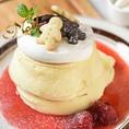 季節で替わるパンケーキ&フレンチトースト♪毎月旬の素材にこだわったおすすめの『パンケーキ』と『フレンチトースト』をやっています(^^♪