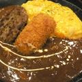料理メニュー写真ハヤシソースオムライスセット