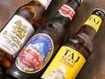 ネパールビールなど、海外産のお酒もお楽しみ頂けます。