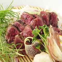料理メニュー写真馬肉たたき